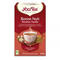 Yogi Tea - Infusion Bonne Nuit Rooibos Vanille 17 sachets