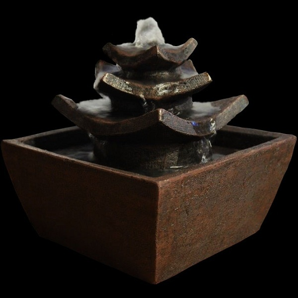 Fontaine d 39 int rieur feng shui temple zen 39 ar me acheter for Fontaine interieur zen