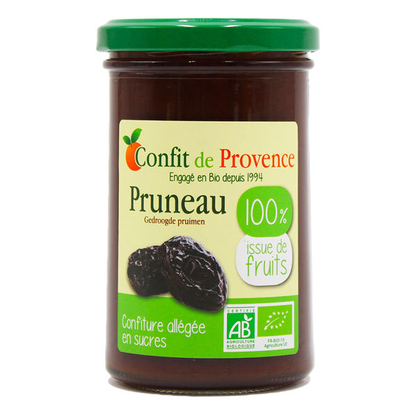 Confit de Provence - Confiture de Pruneau allégée 100% fruits 290g