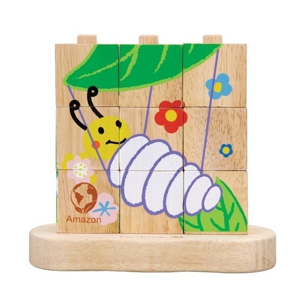 EverEarth - 9 Piece Stacking Block Puzzle