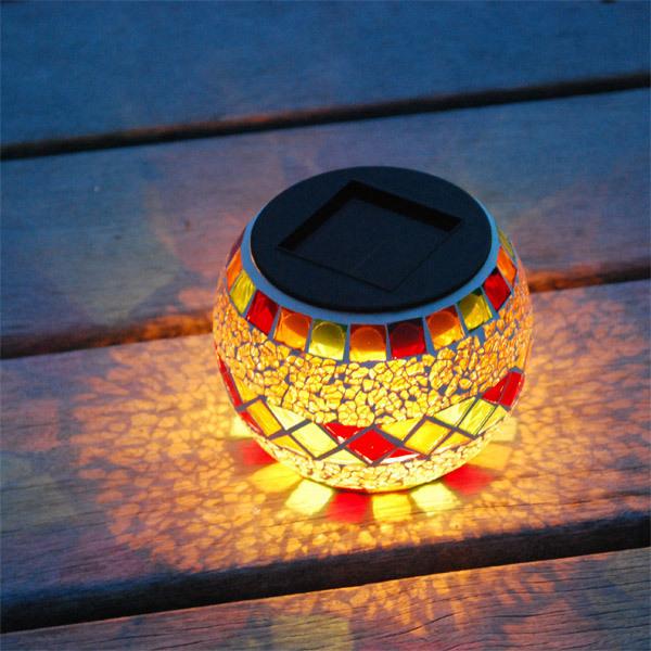 Lanterne solaire - rouge orange Galix | Acheter sur Greenweez.com