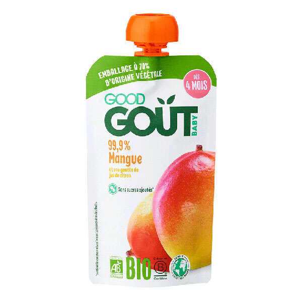 Good Gout - Gourde mangue 120g