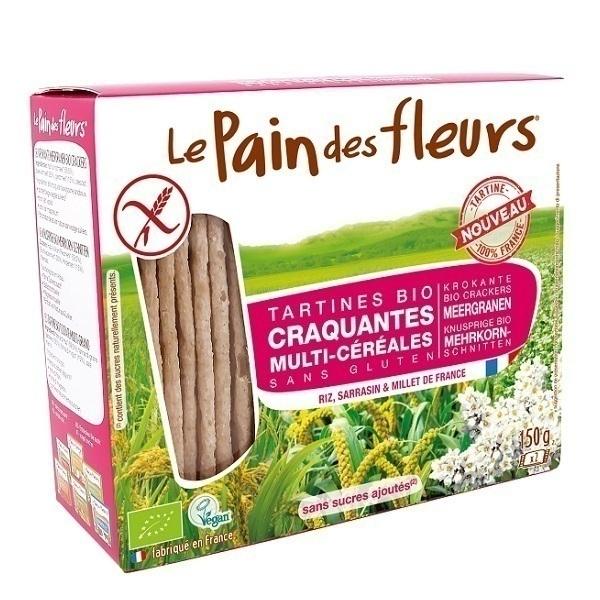 Le pain des fleurs - Tartine craquante multi-céréales 150g