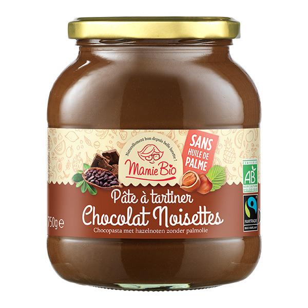 Mamie Bio - Pâte à tartiner cacao noisettes 750g