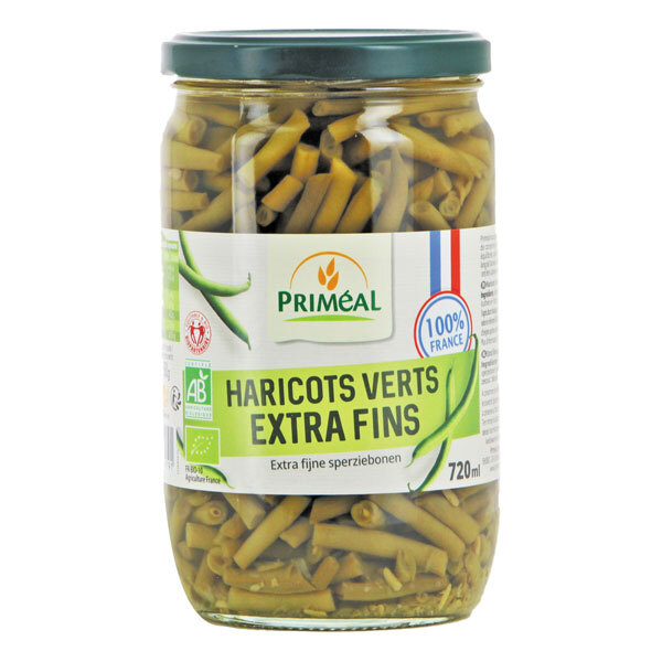 Priméal - Haricots verts extra fins 720ml