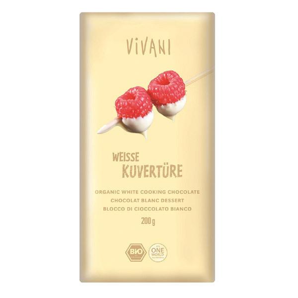 Vivani - Chocolat blanc dessert 200g