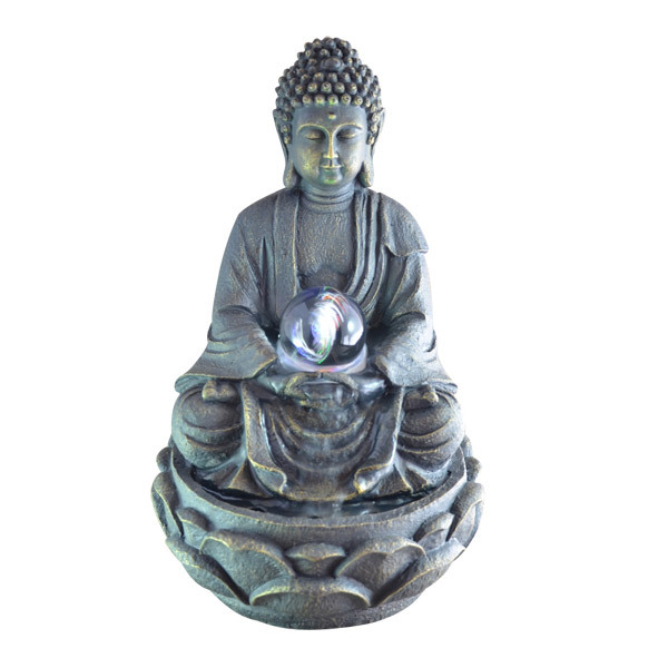 fontaine d 39 int rieur feng shui bouddha meditation zen 39 ar me acheter sur. Black Bedroom Furniture Sets. Home Design Ideas