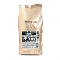 Alter éco - Café Bio Moka Bio 100% Arabica en grains - 1 kg
