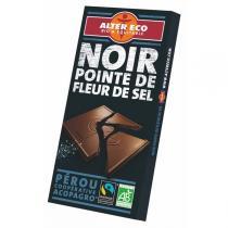 Alter éco - Chocolat Noir à la Fleur de sel Bio - 100 g