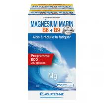 AQUATECHNIE - Magnésium Marin B6 + B9 200 gélules