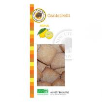 Biscuiterie de Provence - Organic Canistrelli Lemon Biscuits 190g