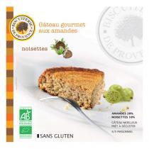 Biscuiterie de Provence - Torta biologica nocciole e mandorle 225 g