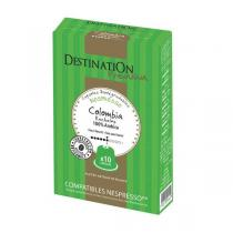 Destination - Café Colombie - 10 Capsules
