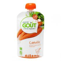 Good Gout - Gourde de légume carotte 120g - Dès 4 mois