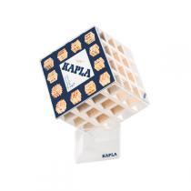 Kapla - Cube en Bois : Casse Tête Blanc