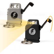 Kikkerland - Robot Dynamo Lamp with Handle