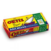 Ortiz - Filets Anchois Huile d'Olive bio 47Gr