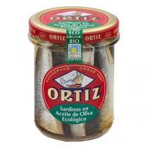 Ortiz - Sardines Huile d'olive bio 190Gr