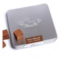 Rrraw - Truffes Nuit Blanche - Café guarana - Boîte métal 100 g