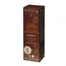 Santé - Homme 2 Gesichtsfluid 2in1 Bio-Caffeine & Açai 50ml