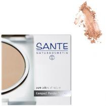 Santé - Compact Powder light sand No. 02 9g