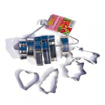 ScrapCooking - Set of 10 Christmas cutters