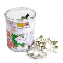 ScrapCooking - Christmas Biscuit Cutters x 5