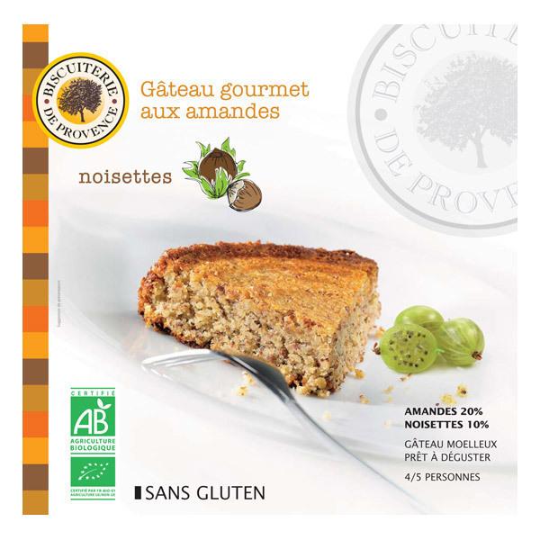 Biscuiterie de Provence - Organic Hazlenut & Almond Cake - 225g