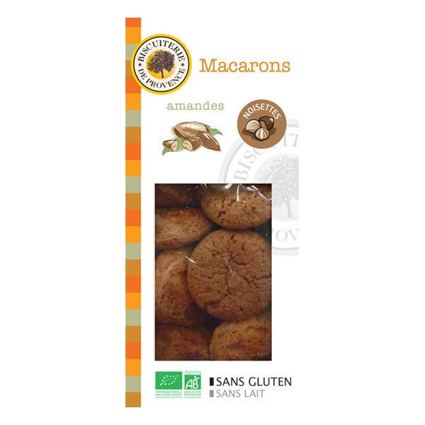 Biscuiterie de Provence - Organic Almond & Hazlenut Macaroons - 140g