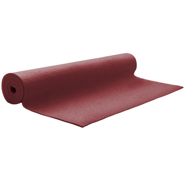 Tapis de Yoga Eco 180x60x4.5 Bordeaux Chin Mudra : Acheter ...