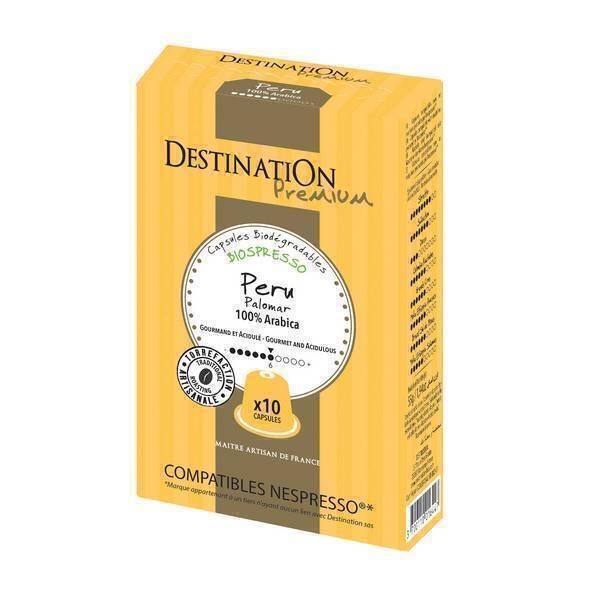 Destination - Café Pérou - 10 capsules