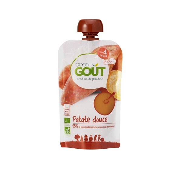 Good Gout - Gourde bio patate douce, 120g