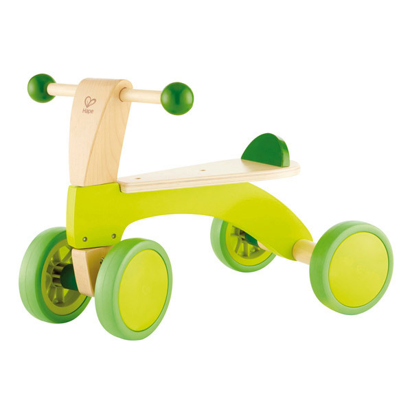 Hape - Porteur en bois 4 roues - dès 1 an