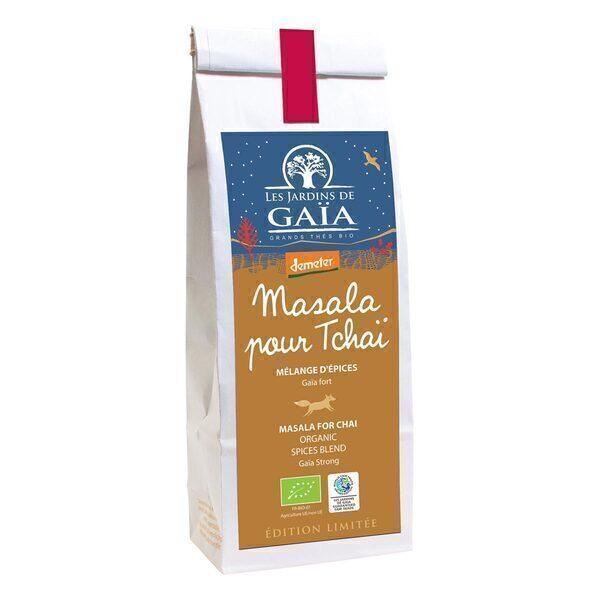Les jardins de Gaïa - Mélange d'épices Masala pour Tchaï 100g