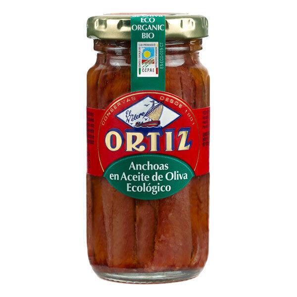 Ortiz - Filets d'anchois à l'huile d'olive 95g