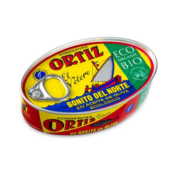 Ortiz - Thon blanc germon huile d'olive 112g