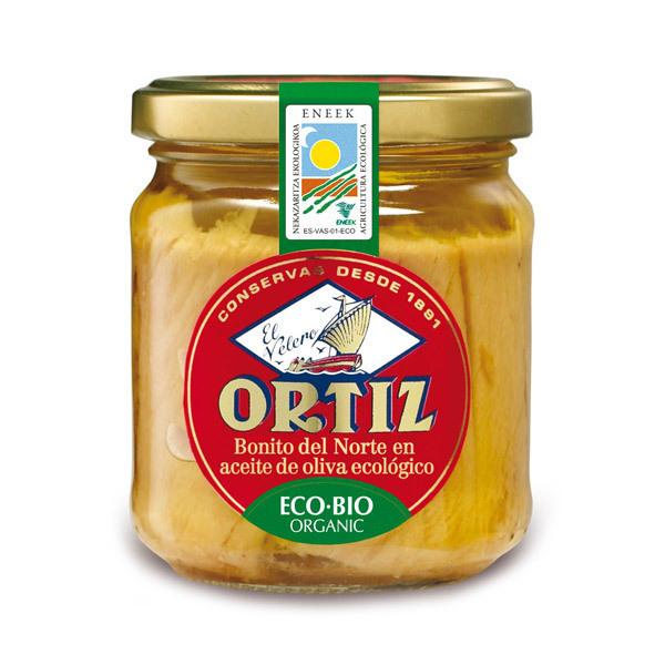 Ortiz - Atún Blanco Bonito Aceite de Oliva 190gr