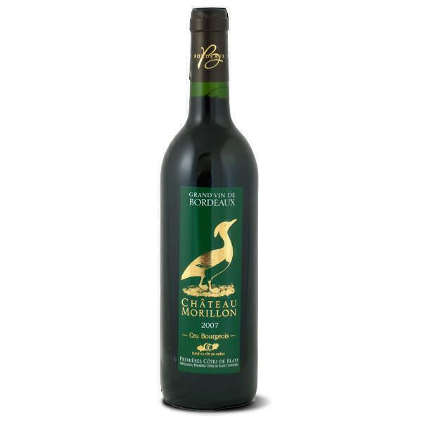 Château Morillon - Vin Rouge Bordeaux OAP Côte de Blaye 75cL