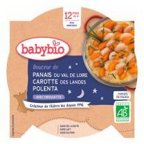 Babybio - Assiette Panais, Carottes et Polenta dès 12 mois 230g