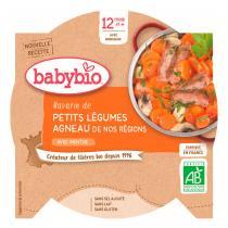 Babybio - Assiette Petits Légumes Agneau Dès 12 mois 230g