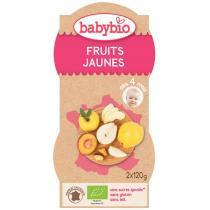Babybio - BabyBio Fruits jaunes 2x120g