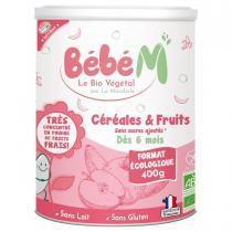 Bébé M - Céréales et fruits 400g - Dès 6 mois