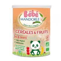 Bébé Mandorle - Céréales fruits bio dès 6 mois 400g