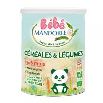 Bébé Mandorle - Céréales légumes bio dès 6 mois 400g