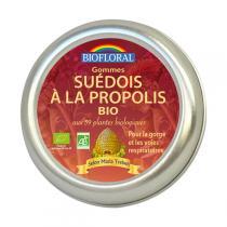 Biofloral - Gommes Suédois Propolis 59 Plantes Bio 45g