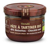 Bovetti Chocolats - Dark Chocolate and Hazelnut Spread 200g