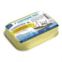 Capitaine Nat - Sardines miel de Garrigue bio 115gr