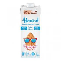 EcoMil - Lait amande calcium sans sucres 1L