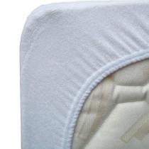 Eveil & Nature - Alèse en coton Bio Blanc 60x120 cm