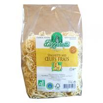 Lazzaretti - Spaghettis Nid aux oeufs frais Bio 250g